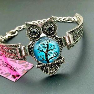 Betsey Johnson Owl Bracelet